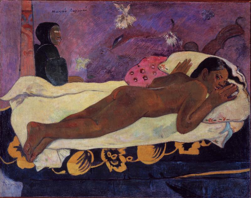 El espíritu de los muertos vela, de Gauguin (1892)