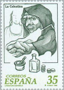 Sello postal de Correos de España (1998)