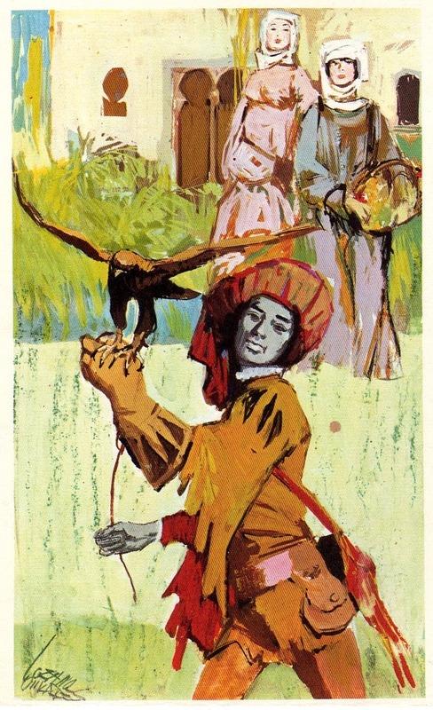 Ilustración del acto I de la edición de Barcelona (1972)