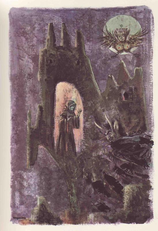 Ilustración segunda del acto III de la edición Barcelona (1968)