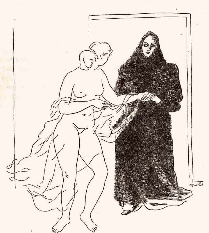 Ilustración primera del acto XV de la edición de México (1947)