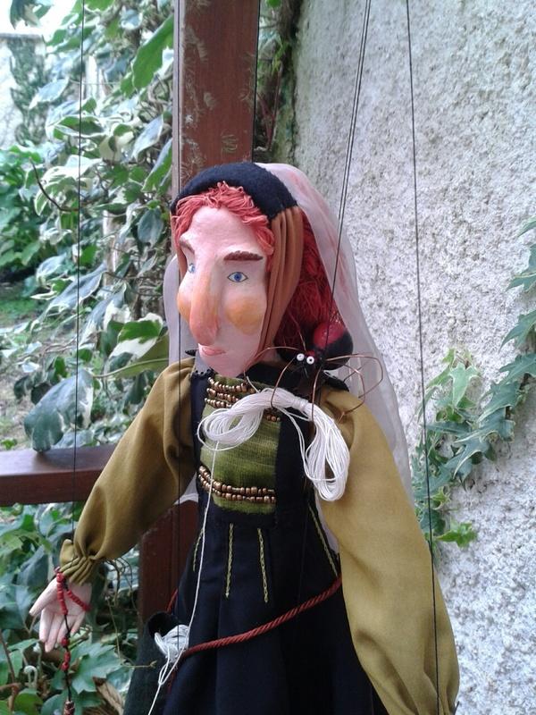 Marioneta de Celestina, de Seoane (2017)