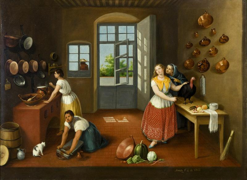 La cocina poblana, de Arrieta (1863)