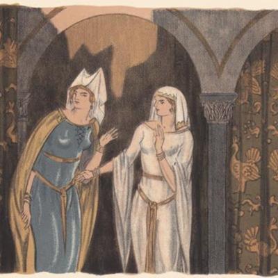Ilustración segunda del acto XII de la edición de París (1949)