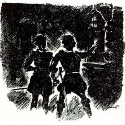 Ilustración segunda del acto XI de la edición de París (1989)