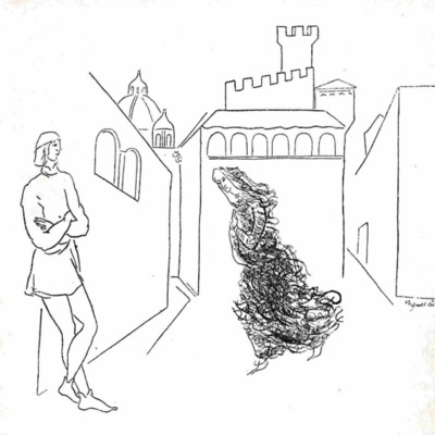 Ilustración primera del acto V de la edición de México (1947)