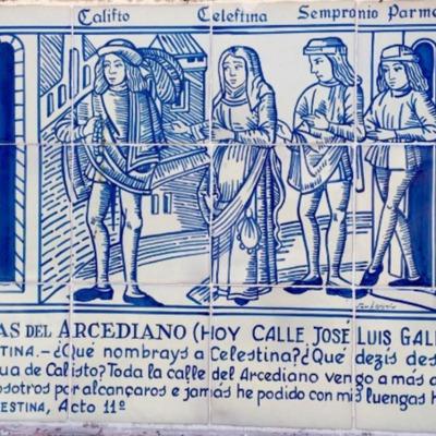Azulejo de La Celestina (2016 c.)