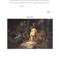Celestina preparando su presa, de Lucas Villaamil (siglo XIX)