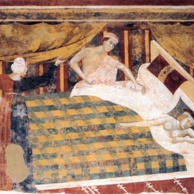 El dormitorio, de Filipuccio (1320.c)