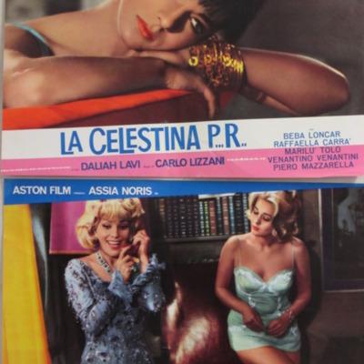 Fotocromo 2 de la película La CelestinaP...R...de Lizzani.