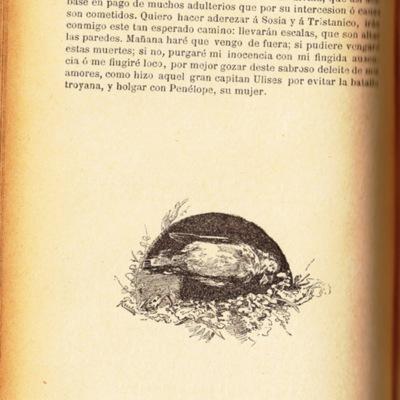 Ilustración segunda del acto XIII de la edición de Barcelona (1883)