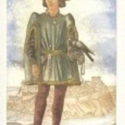 Ilustración de Calisto de la edición Barcelona, 2000.