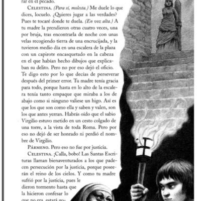 Ilustración segunda del acto VII de la edición de Barcelona (1996)