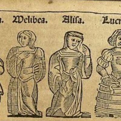 Ilustración del acto X de la edición de Zaragoza, 1545