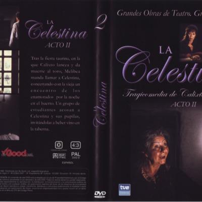 Carátula del DVD Acto II de La Celestina, de Guerrero.