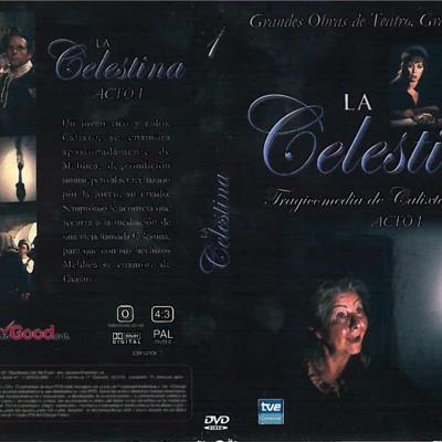 Carátula del DVD Acto I de La Celestina, de Guerrero.