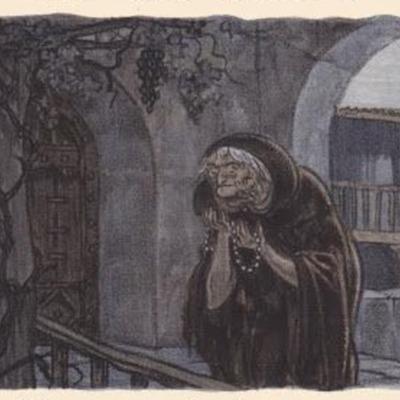Ilustración segunda del acto XI de la edición de París (1949)