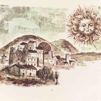 Ilustración primera del acto XIII de la edición de Barcelona (1968)