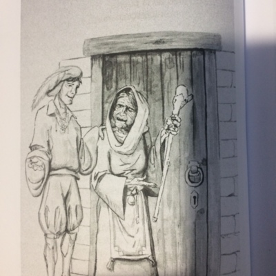 Ilustración segudna  del acto 2  de la edición de Madrid, 2010