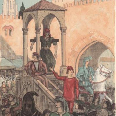 Ilustración segunda del acto IV de la edición de París (1949)