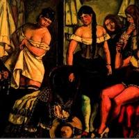 Las chicas de la Claudia, de Gutiérrez Solana (1929)