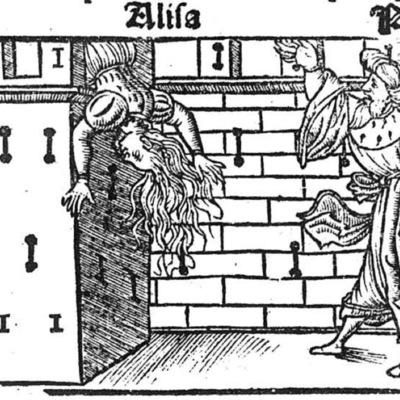 Ilustración del acto XXII de la edición de Toledo (1538)