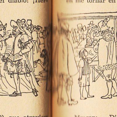 Ilustración segunda del acto IV de la edición de Barcelona (1967)