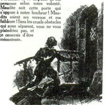 Ilustración segunda del acto XII de la edición de París (1989)
