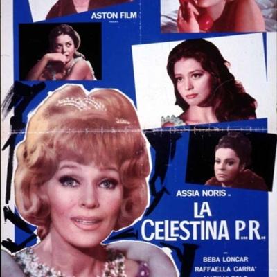 Cartel anunciador 1 de la película La Celestina P...R...de Lizzani.