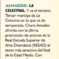 Representación de Almagro, 1996.