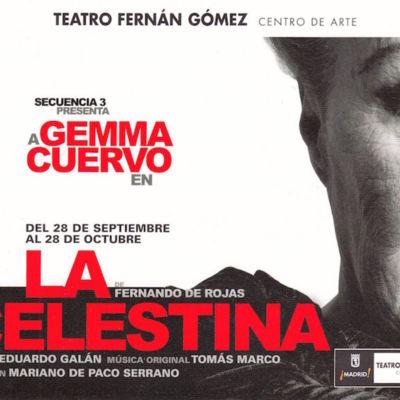 Representación del Teatro Fernán Gómez, Madrid, 2012.