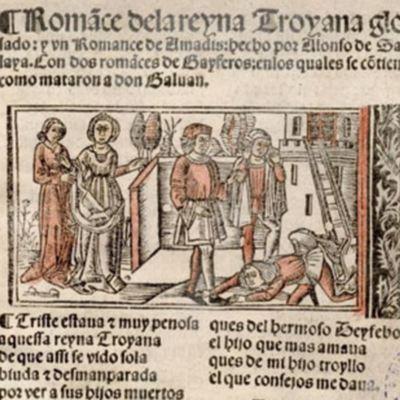 Romance de la reina troyana glosado (1530 c.)