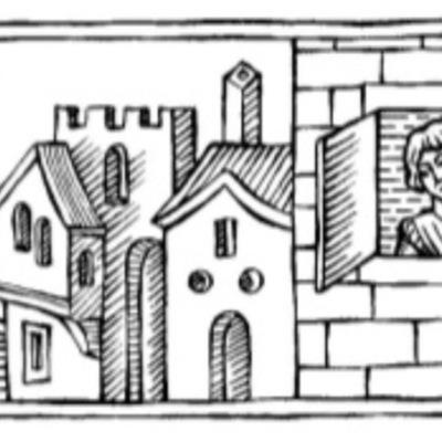 Ilustración primera del acto V de la edición de Barcelona (1996)