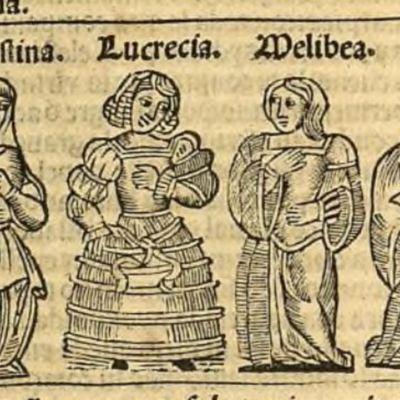 Ilustración del acto IV de la edición de Zaragoza, 1545