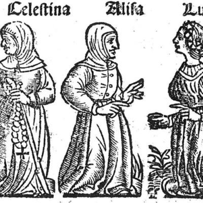 Ilustración del acto X de la edición de Toledo (1538)