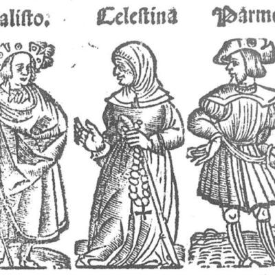 Ilustración del acto VI de la edición de Toledo (1538)