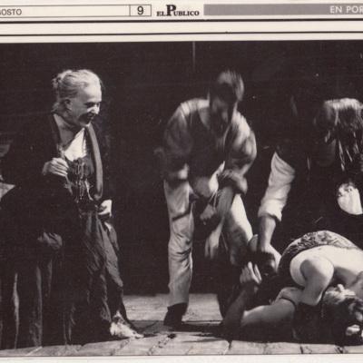 Representación del festival de Grec-89, Barcelona, 1989