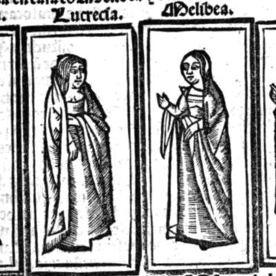 Ilustración del acto IV de la edición de Barcelona (1525)