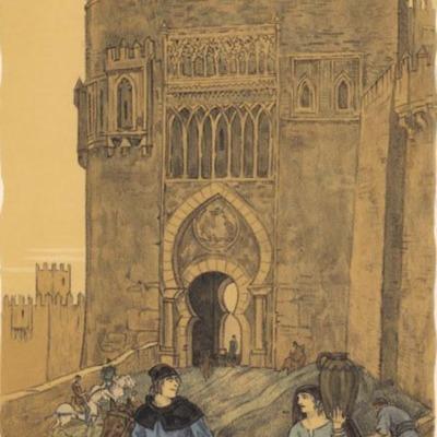 Ilustración segunda del acto XVII de la edición de París (1949)