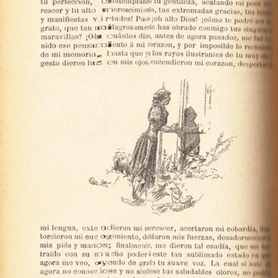 Ilustración segunda del acto XII de la edición de Barcelona (1883)