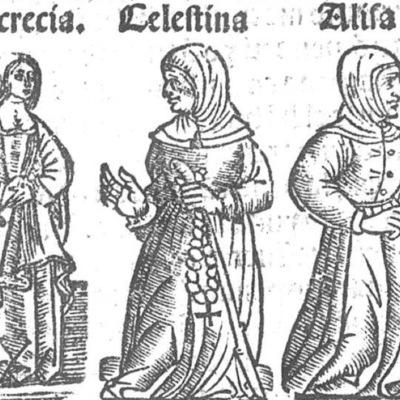 Ilustración del acto IV de la edición de Toledo (1538)
