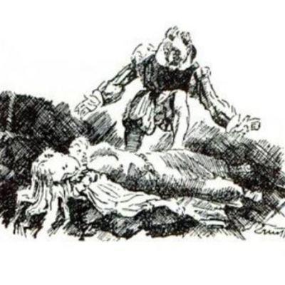 Ilustración del acto XX de la edición de París (1989)