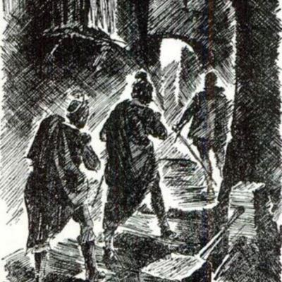 Ilustración primera del acto XII de la edición de París (1989)