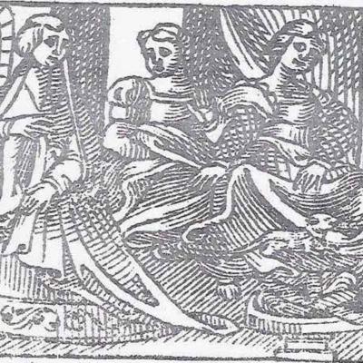 Imagen del acto IV de la edición de Valladolid (1561)