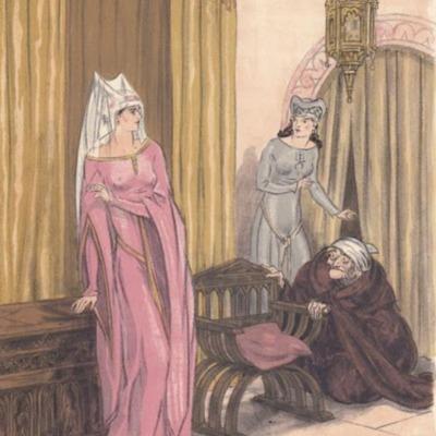 Ilustración tercera del acto VI de la edición de París (1949)