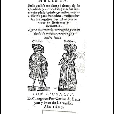 Portada de Zaragoza, 1607