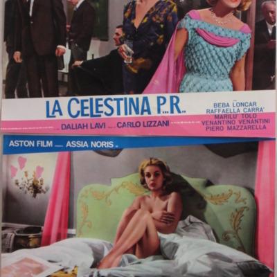 Fotocromo 4 de la película La CelestinaP...R...de Lizzani.