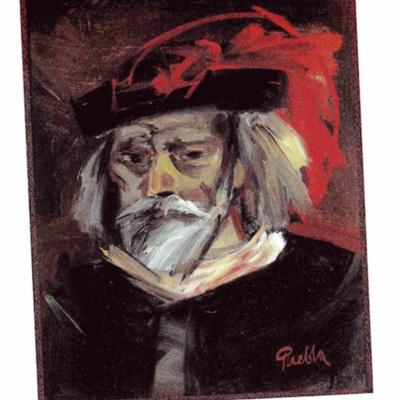 Ilustración de Pleberio de la edición de Albacete (1999)