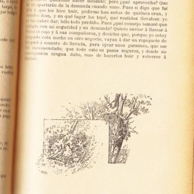 Ilustración segunda del acto XVIII de la edición de Barcelona (1883)