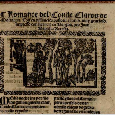 Romance del conde Claros, de Varesio (1593, c.)